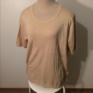 Beige Banana Republic sweater - size L (NWT)